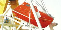 AKV Sea Volcano Ltd. Life boats and Davits survey